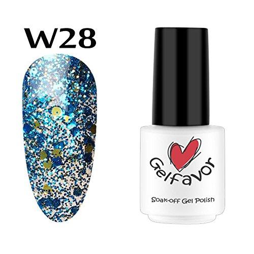 serliy Diamant Nagellack Nagel Gel | 7 ML Chameleo Nagellack Nail Art Nagellack UV LED Gelpoliermittel