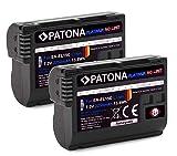 PATONA Platinum - 2X Ersatz für Akku Nikon EN-EL15c (2250mAh) - kompatibel mit Nikon Z5 Z6 II Z7 II etc.