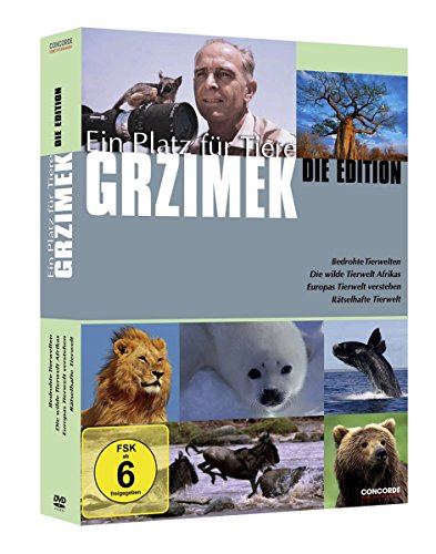 Grzimeks Ein Platz für Tiere - Die Edition (4 DVDs)