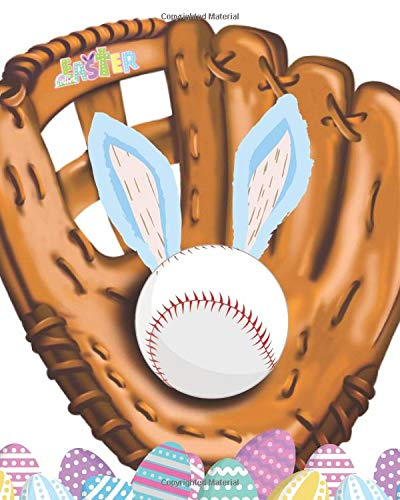 Easter: Baseball Gift For Kids - A Writing Journal To Doodle And Write In - Blank Lined Journaling Diary For Boys And Girls