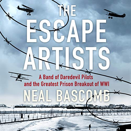 The Escape Artists audiobook cover art