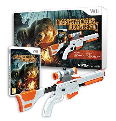 Cabela's dangerous hunts 2011 + Top Shot Elite Gun [Edizione: Francia]