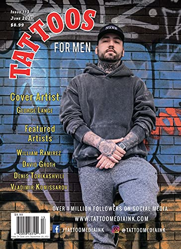 Tattoos For Men Magazine Issue 113 / Tattoos For Women Magazine Issue 121 - Special Split Issue (Tattoos For Men / Tattoos For Women Book 6) (English Edition)