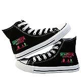 Stranger Things Cosas más extrañas zapatos de lona de las zapatillas de deporte cómoda de la...
