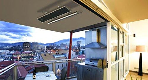 CasaTherm- Infrarot-Dunkelstrahler CasaTherm Heatpanel PLUS/D – Infrarot-Dunkelstrahler (Blacklight), 1500W, 6,8 A, IP55, mit Halterung, inkl. IR-Fernbedienung mit 3 Leistungsstufen - 4