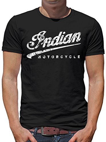 Size Large Indian Motorcycle Mens UV Protect Headdress Tee