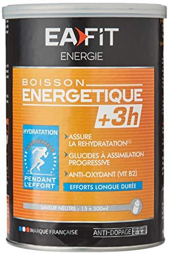 Eafit Boisson Energétique +3H Neutre 500 g, RPV0000914