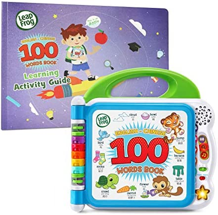 LeapFrog Learning Friends English Chinese 100 Words Book with Learning Activity Guide Amazon product image