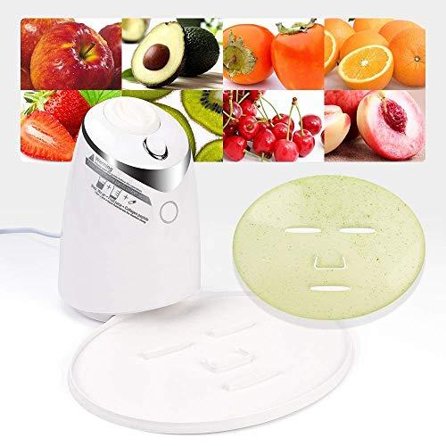 LIARTY Frucht Gesichtsmasken Maschine, Natürliche Obst Gemüse Gesichtsmaske Maker, DIY Natürliche Frucht Gesichtspflege Frische Kollagen Schönheit Maschine(EU Plug)