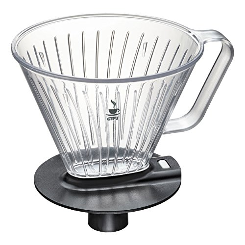 Gefu Fabiano Kaffeefilter Gr. 4, Kaffee Filter, Kaffeebereiter, Filtereinsatz, Zinkdruckguss / Stahl / Kunststoff, 15 cm, 16001