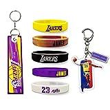 LeBron-Keychain James-Silicone-Bracelet...