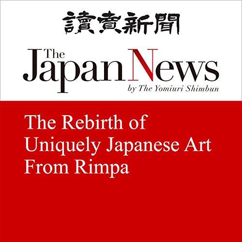 Page de couverture de The Rebirth of Uniquely Japanese Art From Rimpa