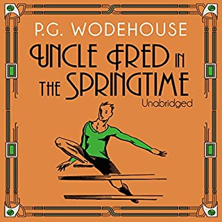Uncle Fred in the Springtime audiobook cover art