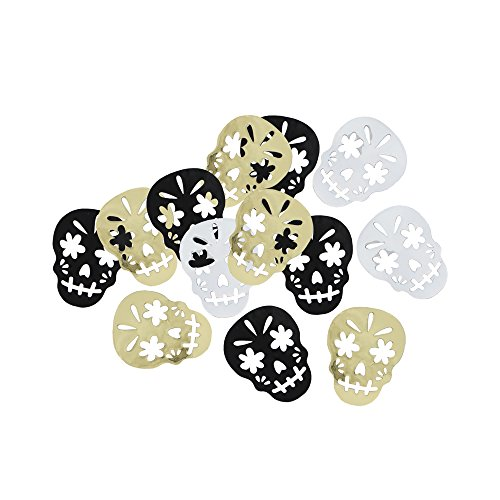Skull Day of the Dead Halloween Party Supplies