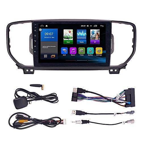 Android 10 autoradio Navigazione per auto headunit Stereo Lettore multimediale GPS Radio IPS 2.5D Touchscreen PerKIA KX5 Sportage R 2016-2018