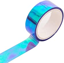 JIUYECAO Glitter Regenboog Washi Tape Briefpapier Scrapbooking Decoratieve Plakbanden DIY Afplakband