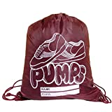 Direct Uniforms P.E.-Pump Bags-Light Weight sturdy Junior School-One Size, Color:Maroon
