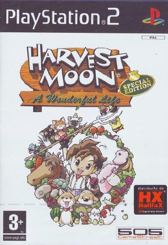 Harvest Moon A Wonderful Life Special Edition PS2 englisch