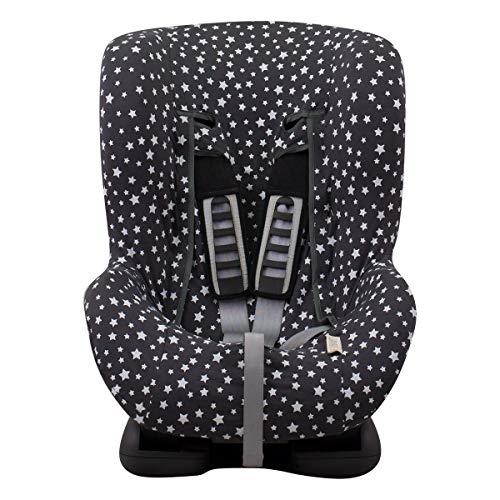 JANABEBE Bezug Universal für Auto-Kindersitz Gr 1 2 3 (WINTER SKY)