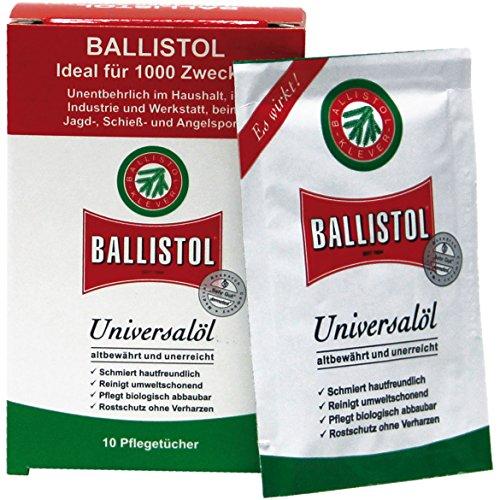 Ballistol Tücher-Box 10 Sachets, 21950
