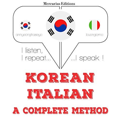 Korean - Italian. A complete method cover art