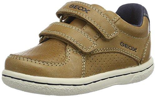 Geox B Flick B, Chaussures Marche bébé garçon, Beige (Caramel/navyc5gf4), 22 EU