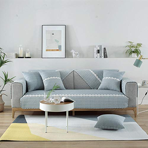 leather/Fabric sofa covers,sofa savers,Sectional couch shield,Modern sofa Protector Covers,soft couch slipcover,Stain Resistant sofa Slip Cover,Fadeless couch covers,window seat cushion-light_blue_11