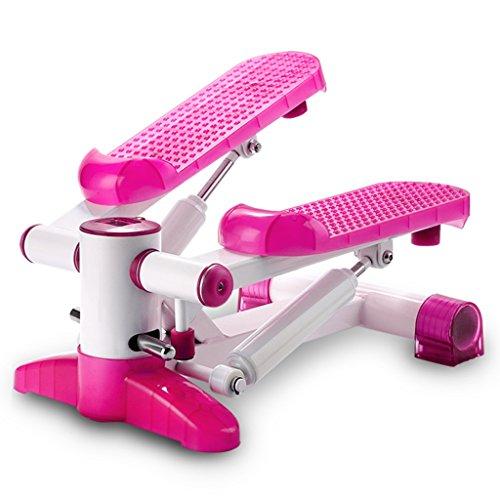 Stepper delle famiglie multifunzione a pedale idraulica Stovepipe sottile fitness attrezzature Muto Stepper ( colore : Rosa )
