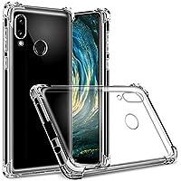Hually Funda para Huawei P20 Lite, Carcasa Transparente Slilicona Suave TPU Gel [Ultra Fina][Protección a Bordes y Cámara], Funda para Huawei P20 Lite/Nova 3e Funda –Transparente