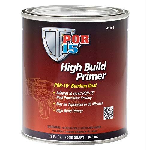 POR-15 41104 High Build Primer - 1 quart (Packaging may...
