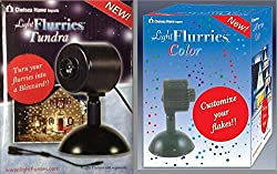 The Light Flurries Outdoor Light Show Christmas lighting outdoor christmas projector holiday lights light flurries colored spotlight and tundra spotlight combo workwithnaturefo