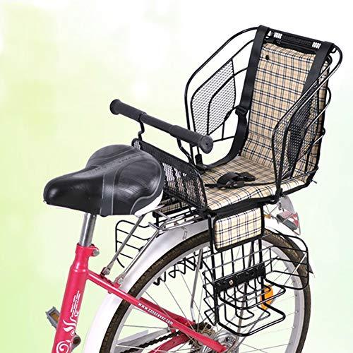 JTYX Kinderen Fiets Veiligheid Stoelen Posterieur Kind Achterstoel met Veilige Riem Dik voor Elektrische Fiets
