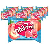 Orion My Gummy Jelly Peach 66g (pack of 10)