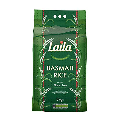 Laila Basmati Reis 5 kg aus Pakistan Basmati Rice