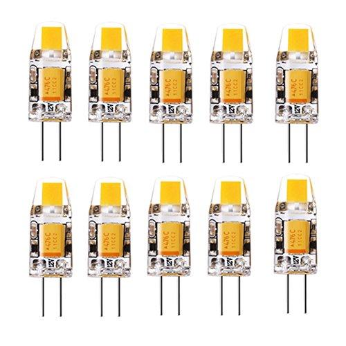 Rongjuyi LED G4 COB 1508 3W 260LM LED-lampen Bi-Pin decoratief/waterdicht AC/DC 12-16V 10PCS