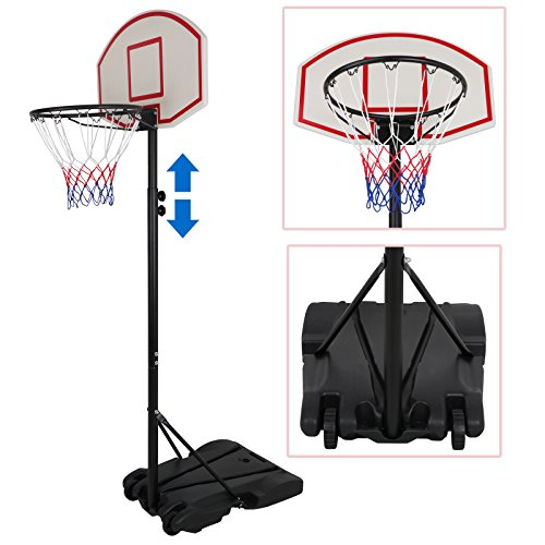 ZENY Portable Basketball Hoop Backboard System Stand and Rim for Kids...