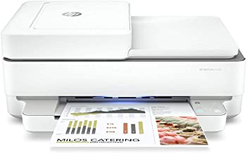 HP Envy Pro 6458 All-in-One Color Inkjet Printer, Copy, Scan, Mobile fax, Instant Ink Ready, 5SE48A (Renewed)