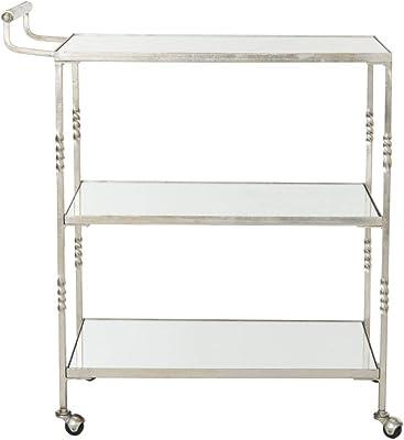 Safavieh Home Collection Aurelius Silver Bar Cart