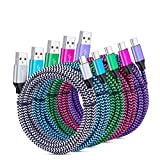 C Charger Cable Fast Charging 6Ft Type USB C Cords for Samsung Galaxy Note 20 S20 Ultra,A01 A51 A20 A50 A10e A11 S10E S10 + S8 S9 Plus Note 10/9 LG G7 G8 V60 Moto G7 X4 Z3 Nexus 5X/6P OnePlus 7 Pro