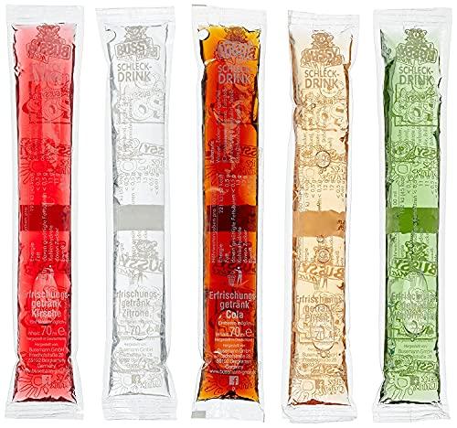 Bussy Mix Wasssereis zum Selbsteinfrieren, 100er Pack (100 x 70 ml)