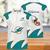 New Jersey NFL T-Shirts De Football Américain pour Hommes Séchage Rapide Maillots Polos T-Shirt Supporters Rugby Football Unisexe Lait Soie T-Shirt N-L