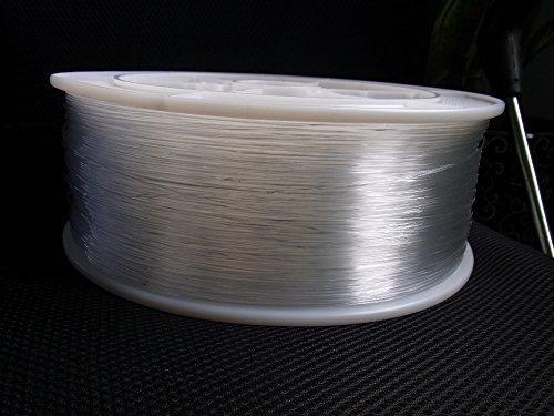 Glasfaser 3Meter x 0,75mm Dotted Light Kabel ideal für Modeling–von einer Rolle