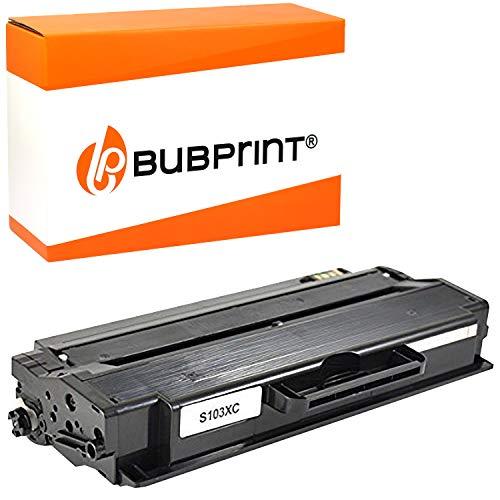 Bubprint Toner kompatibel für Samsung MLT-D103L/ELS für ML-2900 ML-2950NDR ML-2955DW ML-2955ND SCX-4726FN SCX-4729FD SCX-4729FW 2500 Seiten Schwarz