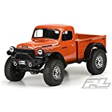 Pro-Line 3499-00 1946 Dodge Power Wagon Clear Body 12.3 inch wheelbase