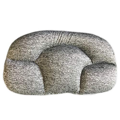 Almohada del Sueño De Huevo, Almohada Multifuncional para Proteger La Cintura De La Columna Cervical Y Ayudar A Dormir,Negro