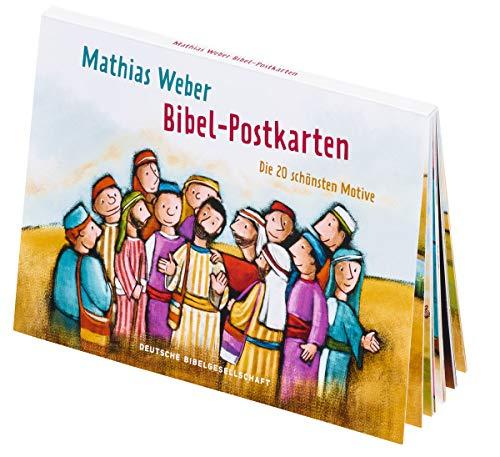 Mathias Weber Bibel-Postkarten: Die 20 schönsten Motive