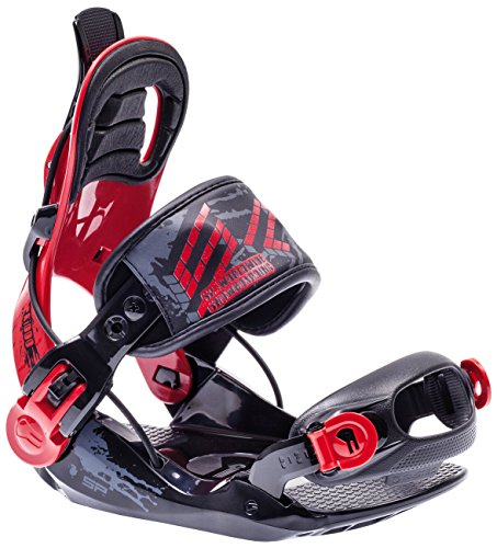 SP United Kinder Snowboardbindung JR, Schwarz, S