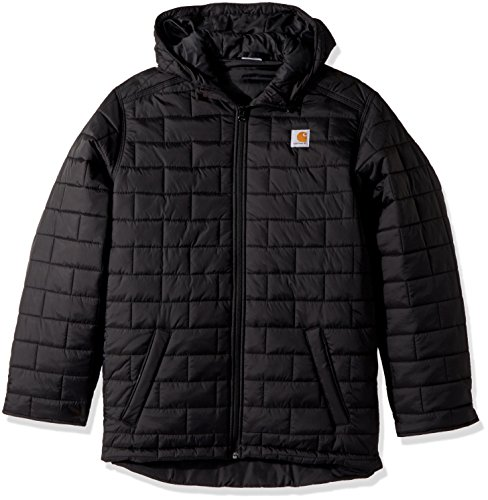 Carhartt Boys' Little Gilliam Hooded Jacket, Black, XX-Small (4/5)