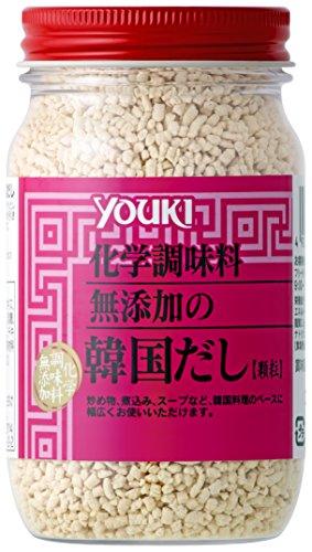 ユウキ 化学調味料無添加の韓国だし 110g