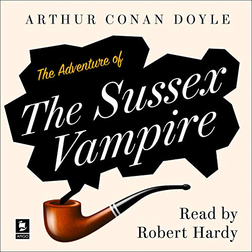 The Adventure of the Sussex Vampire cover art